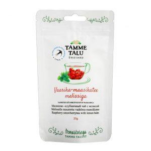 Vaarika-maasikatee melissiga 25g